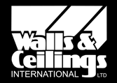 Walls and Ceilings International Logo